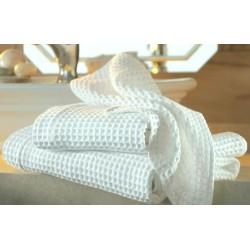 Вафельное полотенце отбеленное.