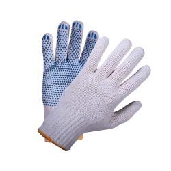 Перчатки 5-нити 7,5 класс ПВХ Точка