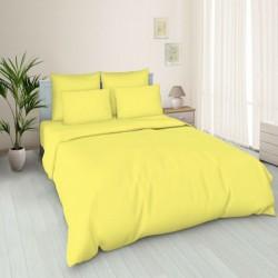 Бязь гладкокрашеная желтая 150 см