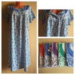Сорочка женская плотная на кнопках